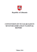 Convention of Nuclear Safety. Seventh National Report