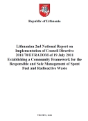 2nd National Report on Implementation of Council Directive 2011/70/EURATOM